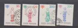 Vatican City S 680-683 1979 International Year Of The Child.used - Vatican