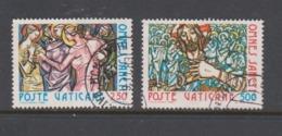 Vatican City S 693-94 1980 Omnes Sancti.used - Vatican