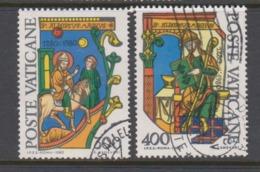 Vatican City S 695-96 1980 St Albertus Magnus 700th Death Anniv. Used - Vatican