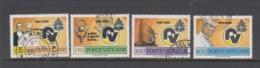 Vatican City S 697-700 1981 50th Anniversary Radio Vaticana,used - Used Stamps