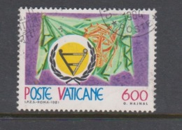 Vatican City S 709 1981 International Year Of Disabled.used - Vatican
