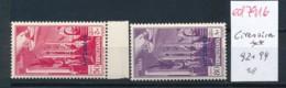 Cirenaica  Nr. 92+94 ** ....(ed 7916 ) Siehe Scan - Cirenaica
