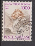 Vatican City S 728 1982 400th Death Anniversary Of St Teresa Of Avila .1000 Lire Used - Vatican