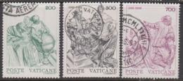 Vatican City S 729-31 1982 400th Anniversary Of Gregorian Calender.used - Vatican