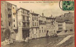 VIENNE - Isère- La Gère-quartier Des Usines Cpa Voyagée -scans Recto Verso-Paypal Sans Frais - Vienne