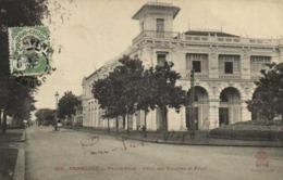 CAMBODGE PHNOM PENH Hotel Des Douanes Et Regie   + Beau Timbre 5 Indochine  RV - Cambodge