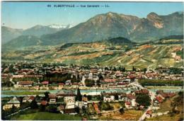 41lks 346 CPA - ALBERTVILLE - VUE GENERALE - Albertville