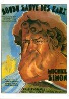 Réf. 481/ 1 CPM - Carte Postale Cinéma - Boudu Sauvé Des Eaux Jean Renoir Michel Simon - Manifesti Su Carta