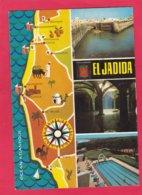 Modern Multi View Post Card Of El Jadida, Casablanca, Morocco,A23. - Casablanca