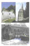 LES 7 VALLEES, FRESSIN, LUGY, VERCHIN, FRUGES - PAS DE CALAIS, PAP ENTIER POSTAL, FLAMME 2008, VOIR LES SCANNERS - Ferien & Tourismus
