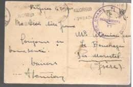 24653 - COMPAGNIE DE CHARS - Poststempel (Briefe)