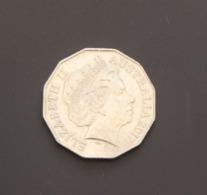 Australia 2017 50c Coin Kangaroo Emu Arms Animals QEII - Dezimale Münzen (1966-...)