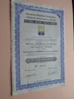 V.A.P. - VICTORIA AIGLON Et PAREIN Réunis / Action De 1000 Francs CONGOLAIS - N° 049450 ( Zie/Voir Foto ) ! - Afrika