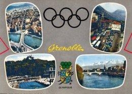 Réf.820/ 1 Carte Postale - J.O - Grenoble 1968 - Olympic Games