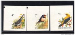 BELGIQUE  BUZIN COB N° 2474/6 ND . ** MNH (3T212) - 1985-.. Birds (Buzin)