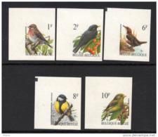 BELGIQUE  BUZIN COB N° 2457/61 ND . ** MNH (3T207) - 1985-.. Birds (Buzin)