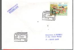 24664 - PHILEXFRANCE  89 - Nicaragua