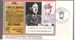 24665 - Appel Du  18 06 1940 - St.Pierre Et Miquelon