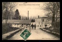 51 - MOURMELON-LE-GRAND - ENTREE DU CAMP DE CHALONS ET BUREAU DE POSTES - Mourmelon Le Grand