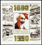 1990, Vietnam Nord Und Republik, Block 79, ** - Vietnam