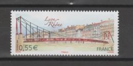 FRANCE / 2008 / Y&T N° 4171 ** : Passerelle Sur Le Rhône à Lyon (Rhône) X 1 - Gomme D'origine Intacte - Neufs