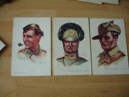 Lot 15 Carte Emile Dupuis Militaria  Guerre 14.18 Portrait  Militaire - Dupuis, Emile