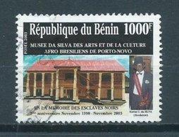 2003 Benin Da Silva Museum 1000F Used/gebruikt/oblitere - Benin - Dahomey (1960-...)