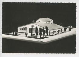 Fréjus, Saint Aygulf : Maquette Future église Et Foyer De Jeunes, Abbé Ferrero Curé - Chapelle Sanctuaire Saint Aygou - Frejus