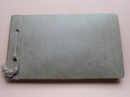 Begrafenis / Funéraille ( Edit.Téléfoto BRUXELLES ) Plaque Voiture 4H001 > Anno 19?? ( Form. Album +/- 11,5 X 19 Cm.) ! - Albums & Collections