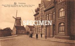 Molen  1 Hooge Met Woningen Van MM. Cools En Van Hecke  - Oudenburg - Oudenburg