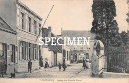Ingang Der Kapelle Straat  - Oudenburg - Oudenburg