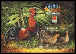 2001, Malaysia, Block 52 I, ** - Maleisië (1964-...)