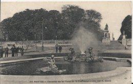 Carte Postale Ancienne De Nantes ( 44 ) La Fontaine De La Place De La Duchesse Anne - Nantes