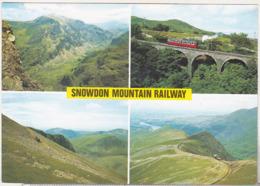 England Uncirculated Postcard - Trains - Snowdon Mountain Railway , Gwynedd - Trains