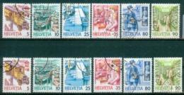 Schweiz 1986 Und 1987   MiNr.   1321 - 1326  Ya Und Yb    O / Used  (s170) - Svizzera