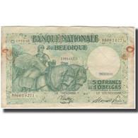 Billet, Belgique, 50 Francs-10 Belgas, 1945-01-03, KM:106, TB - [ 6] Staatskas