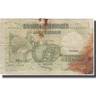 Billet, Belgique, 50 Francs-10 Belgas, 1947-04-03, KM:106, B - [ 6] Tesoreria