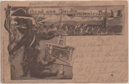 SUISSE  BERN   GRUK AUS    SOUVENIR DE BERNE   EN  1904 - BE Berne