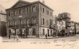 83 LA SEYNE SUR MER LA MAIRIE BELLE ANIMATION OMMNIBUS A CHEVAUX CARTE PRECURSEUR - La Seyne-sur-Mer