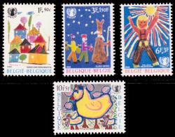 Belgium 1492/95**   UNICEF  MNH - Ungebraucht