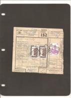 Vrachtbrief  Met Stempel :  TORHOUT--- ( 55 ) - Railway