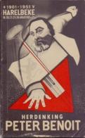 Programma Herdenking Peter Benoit - Harelbeke 1901 - 1951 - Programs