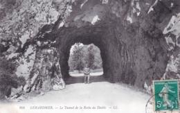 88 - Vosges -  GERARDMER - Le Tunnel De La Roche Du Diable - Gerardmer