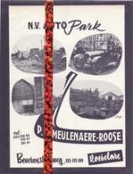 Pub Reclame - NV Autopark - P. Demeulenaere - Roose - Roeselare - Pubblicitari