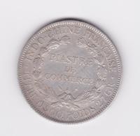 1 Piastre De Commerce Indochine Française 1924 TTB - Kolonien
