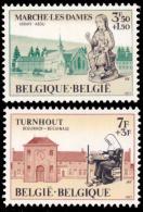 Belgium 1571/72** Philanthropique   MNH - Belgium