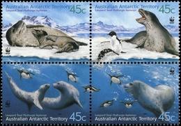 2001, Australische Gebiete In Der Antarktis, 145-48, ** - Australisches Antarktis-Territorium (AAT)