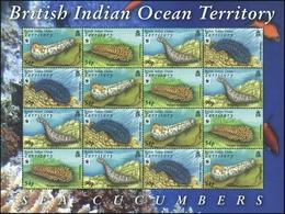 2008, Britisches Territorium Im Indischen Ozean, 470-73 KB ZD, ** - Britisches Territorium Im Indischen Ozean