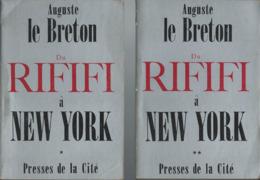 Auguste Le Breton  Du Rififi à New York N: 1 Et 2  Plus Les Hauts Murs- édit Presse De La Cité - Boeken, Tijdschriften, Stripverhalen