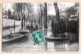 X94030 LAVARENNE Val De Marne INONDATIONS Janvier 1910 Déménagement Des Habitants En Barque 24.06.1910 MALCUIT - France
